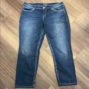 Silver Sam Boyfriend Jeans